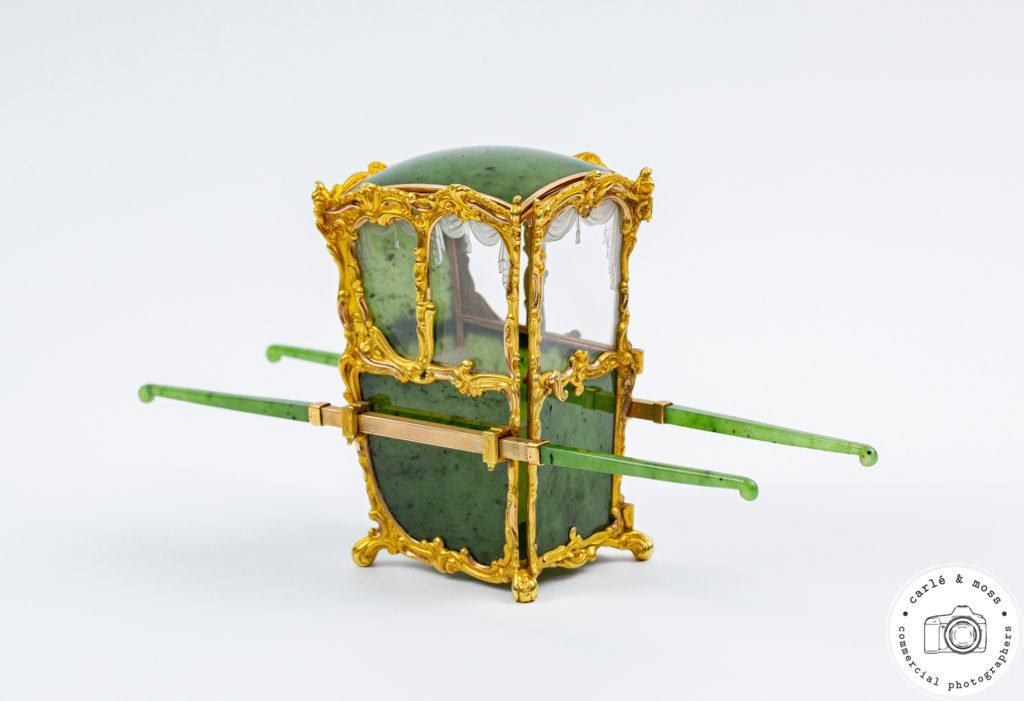 Faberge-Sedan-Chair-Green