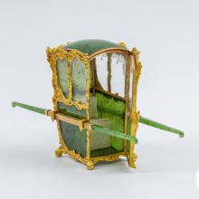 Faberge Sedan Chair Green