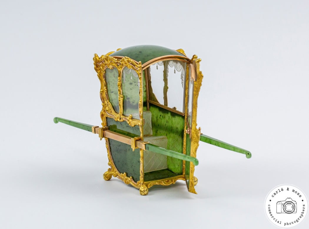 Faberge Sedan Chair Green