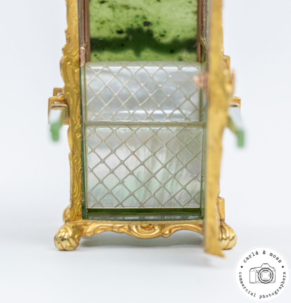 Faberge-Sedan-Chair-Green-mother-of-pearl