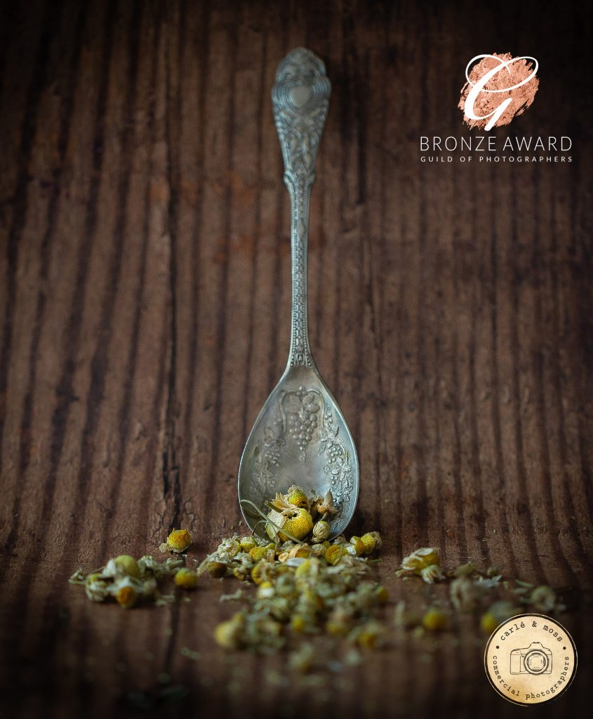 Food Photography Chamomile Tea