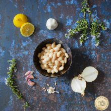 Butter Bean Food Photography
